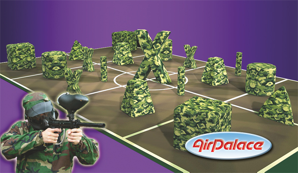 «Figures for paintball field mini»