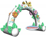 """Arch ""with Flowers mini"""