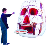 «Inflatable shooting Skull»